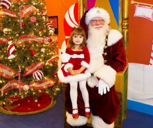 A breakfast feast with Santa is the perfect start to the morning./Photo courtesy of the Woodlands Children's Museum.