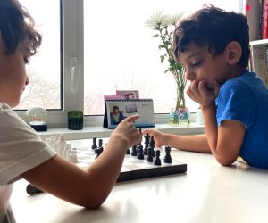 Kids take the chess skills they learn online into the real world. Photo by Sara Marentette