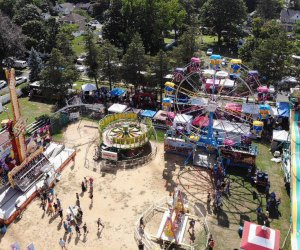 Thrill to the carnival atmosphere at Sayville Summerfest. Photo by Mavicair