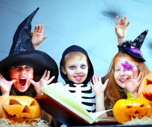 Light on the fright and heavy on the fun, these Halloween activities are inspired by Rowley Jefferson's Awesome Friendly Spooky Stories.