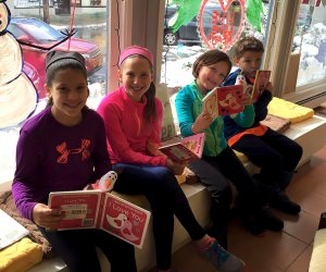 Scattered Books in Chappaqua hosts a free storytime on Tuesdays at 11am.