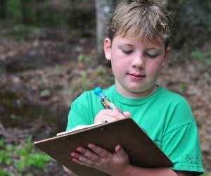 Pack some paper and pencils in your backpack for a nature scavenger hunt. Photo by Melissa Hillier/Flickr