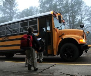 School buses can operate if COVID-19 rates remain under control, but kids need to wear face masks in transit.