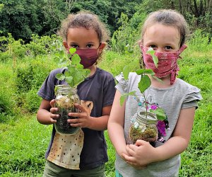Kids can enjoy nature activities at the Schuylkill Center. Photo courtesy the center