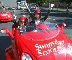 Scoot around the city and get a bunch of birthday honks with Sunny Day Scoot