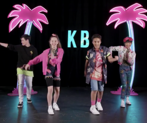 Kidz Bop does a daily Dance Break