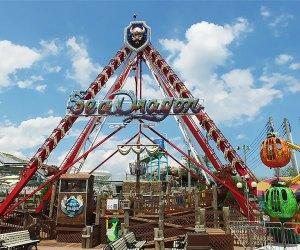 Ride the Sea Dragon at Fantasy Island