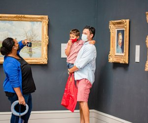 The Wadsworth Atheneum is always FREE for kids! Photo courtesy the museum