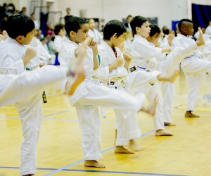 Karate classes for kids are offered at World Seido Karate