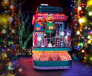 Delight in the fun of the holidays with your favorite Sesame Street characters. Photo courtesy of Sesame Place