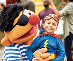 The Count's Halloween Spooktacular. Photo courtesy of Sesame Place
