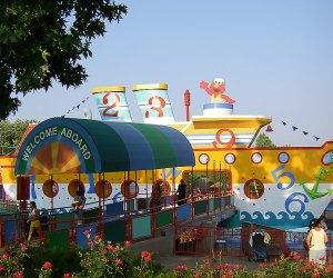 Sesame Place water park