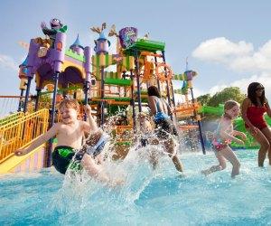 Sesame Place Counts Castle water park