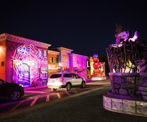 Sesame Place's Not-Too-Spooky Drive-thru is tailor-made for preschool fun. Photo courtesy of Sesame Place