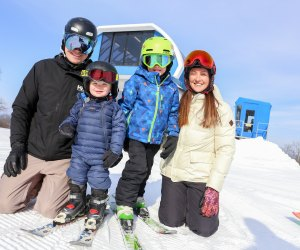 Shawnee Mountain offers tons of attractions to keep your family entertained, from snow tubing, to lessons, snowboarding, and downhill skiing. Photo courtesy of the resort