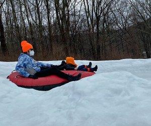 Go snow tubing at Shawnee Mountain