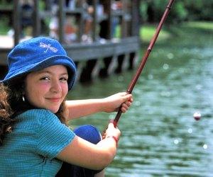Fishing at Sheldon Lake State Park