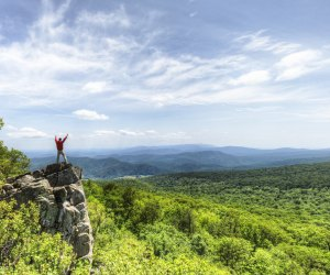 Shenandoah National Park has miles and miles of hikes––and social distance options. Photo courtesy NPS/Neal Lewis