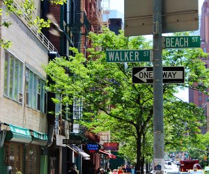 Wander the streets of Tribeca and stumble upon amazing local shops and parks. Photo by Shinya Suzuki via Flickr