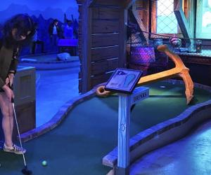 Shipwrecked Miniature Golf in Brooklyn