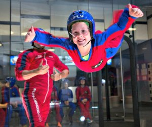 Try indoor skydiving for a daredevil's birthday party. Photo by iFLY Indoor Skydiving