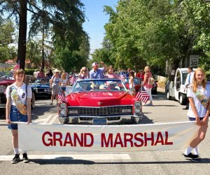 The Sierra Madre 4th of July Parade. Photo courtesy of Sierra Madre