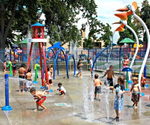 Afternoons are splashtastic! Photo courtesy of Sigler Park/City of Westminster
