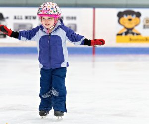 Simoni Arena in Cambridge invites skaters of all ages for public skate. Photo courtesy of FMC Ice Sports