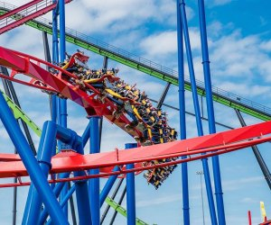 The Six Flags 2021 season opens Saturday, March 27, with its world-class coasters, tasty treats, and more. Photo courtesy of Six Flags