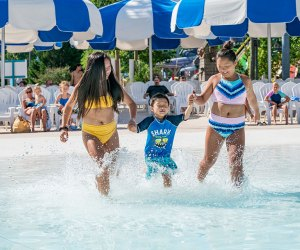 Hurricane Harbor water park for toddlers