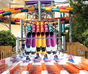 Six Flags Hurricane Harbor.