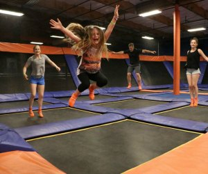 Get a pass to jump at Sky Zone Trampoline Park. Photo courtesy of Sky Zone
