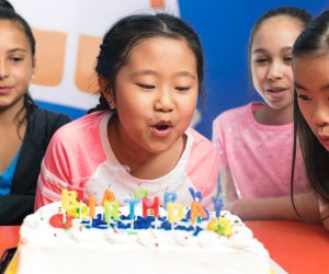 Enjoy a birthday party at one of SkyZone's four area locations. Photo courtesy of SkyZone