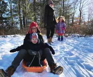 Get ready to hit the sledding hills in New Jersey.  Photo y Rose Gordon Sala