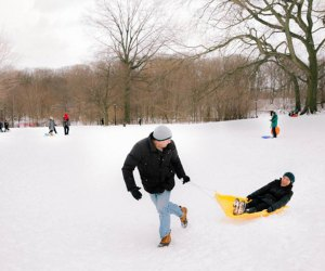 Prospect Park Best Sledding Hills in NYC