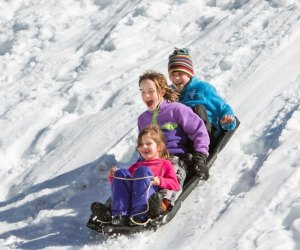 The thrills and cocoa are free at Danehy Park on January 4th! Photo courtesy of Danehy Park