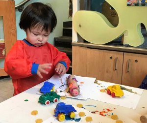 Treat your toddler to a morning of  learning. Photo courtesy of Smithsonian Early Enrichment Center