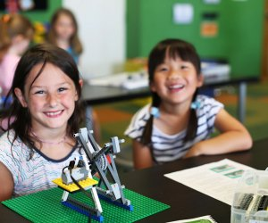 Week-long camps at Snapology feature themes ranging from Creative Creatures to Movie Mania.
