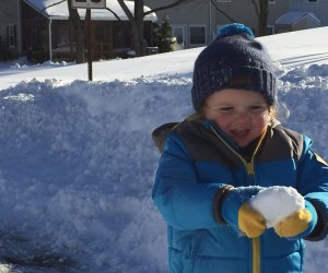 Playing in the snow: a favorite winter activity for Philly kids