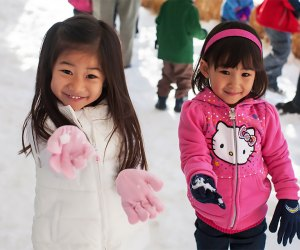 Snow Days at Kidspace. Photo courtesy of the museum