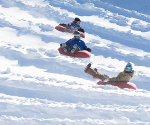 best snow tubing spots near new york city mommypoppins things to do in new york city with kids - Christmas Mountain Tubing