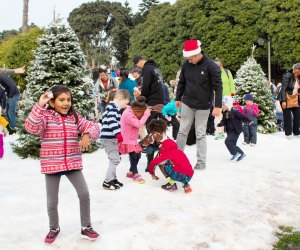 Free holiday fun for the whole family. Snow Wonder here in California!  Photo courtesy of Marina del Rey Visitors Bureau 7c97679f6