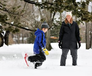 Snowshoe or just hike around Gore Place grounds. Photo by Eric Workman/TMP Images courtesy of Gore Place