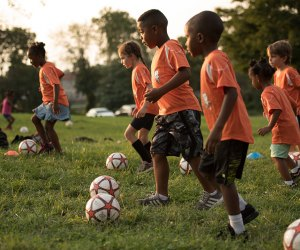 Soccer Shots offers three convenient Westchester locations. Photo courtesy of the club