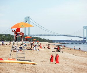 New York City's 14 miles of seashore open for the season Saturday, May 29, 2021. Photo courtesy of NYCGo
