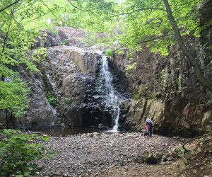 Waterfall at the South Mountain Reservation