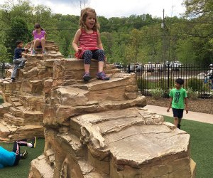 A day trip to the South Mountain Reservation includes a visit to its cool playground