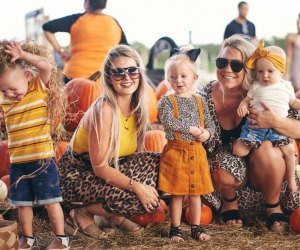 Spend a day picking pumpkins with the family at Southern Hill Farms.