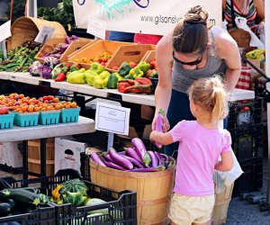 Pick out some produce and then head across the street for more market wares on SoWa. Photo courtesy of SoWa Boston