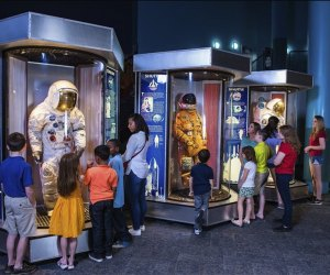 Space Center Houston is free for 4 the and under crowd! Photo courtesy of the museum